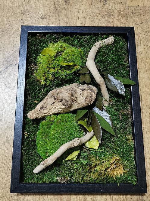 """Tableau végétal design """"Arts et Matières"""""""