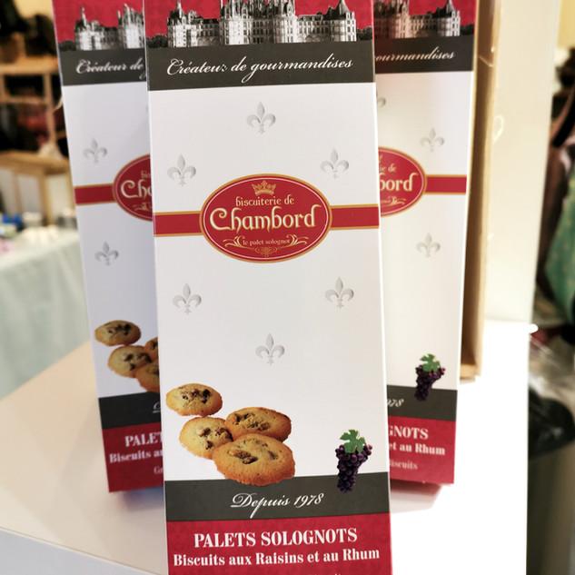 la maison des artisans sologne biscuiterie chambord palets solognots