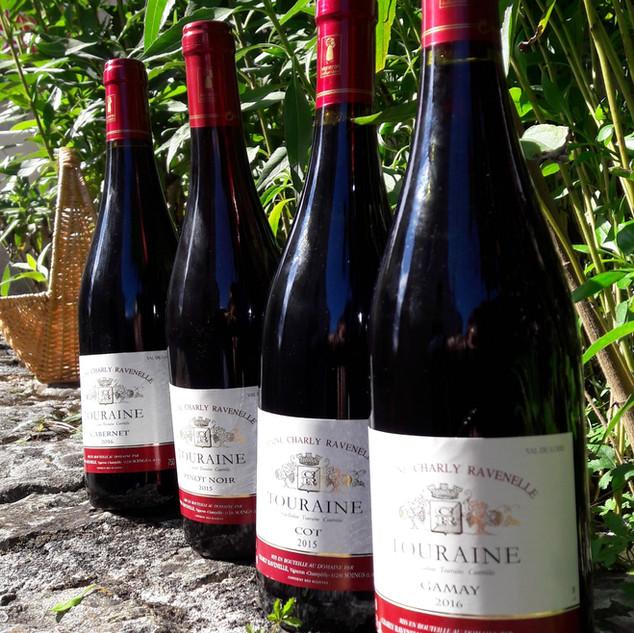 la maison des artisans sologne vins de Loire rouge
