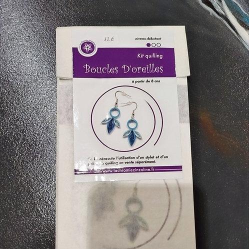 Kit boucles d'oreille