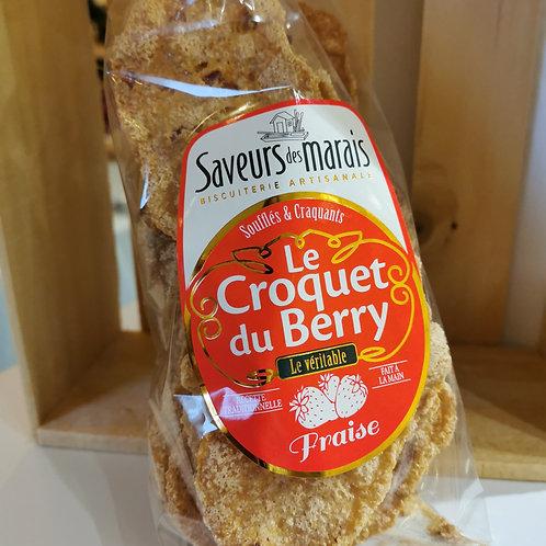 Croquets du Berry à la fraise