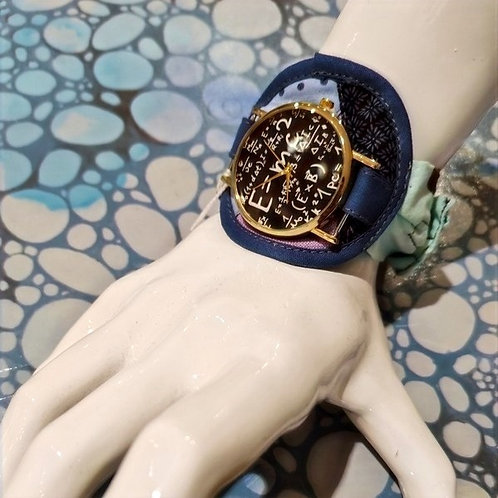 Montre bracelet tissus