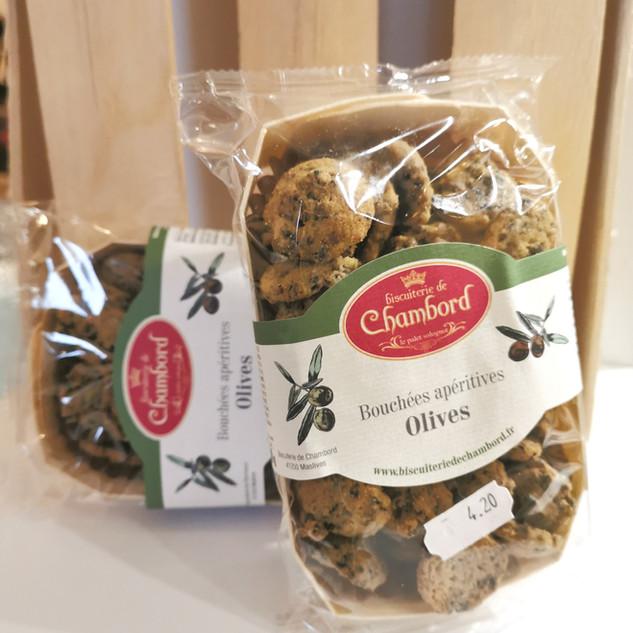 la maison des artisans sologne biscuiterie chambord bouchees apero