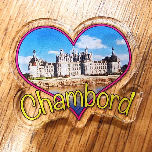 Magnet transparent Chambord