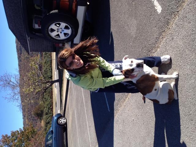 krstine-with-training-client-dog