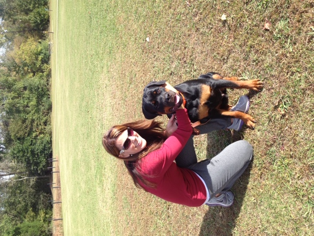 kristine-with-training-client-dog