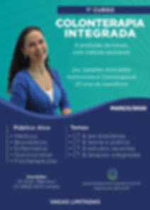 Curso de Colonterapia Integrada - Dra Sa