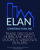 Elan Trade Discount Windows & Doors bann
