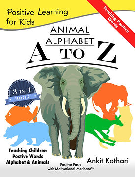 Animal Alphabet A to Z, Positive Learning for Kids series