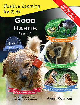 Good Habits Part 1, Positive Learning for Kids series