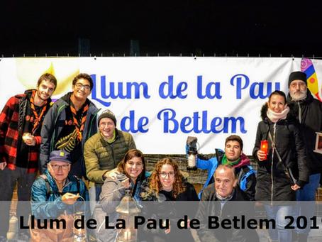 Llum de la Pau 2019
