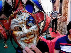 A Venice carnival murder mystery game?