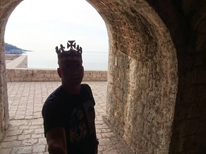 GAME OF THRONES combat training and archery in Kotor. Filming Locations tour in Croatia.