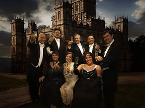 "Awarded ""Runner Up"" in Highclere Castle's ""Downton Abbey themed dinner party competition."
