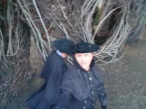 Salem witch hunt.