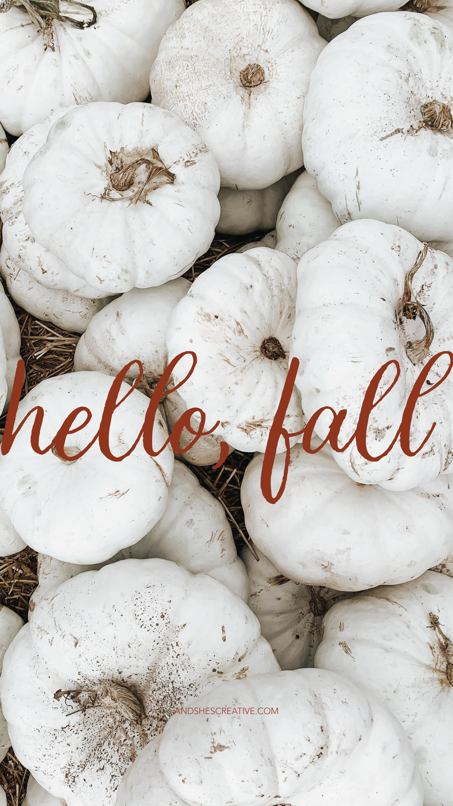 Hello Fall Mobile Background
