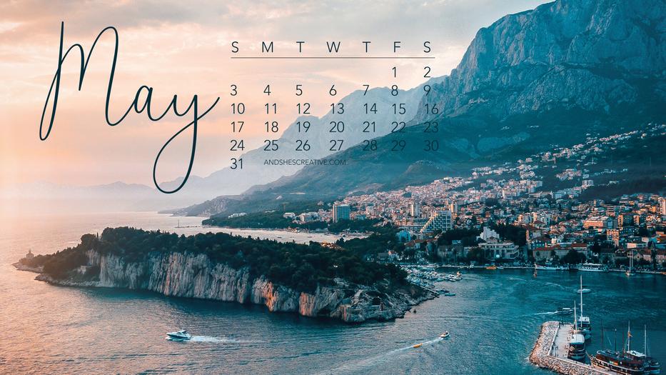 May 2020 Destination Desktop Wallpaper