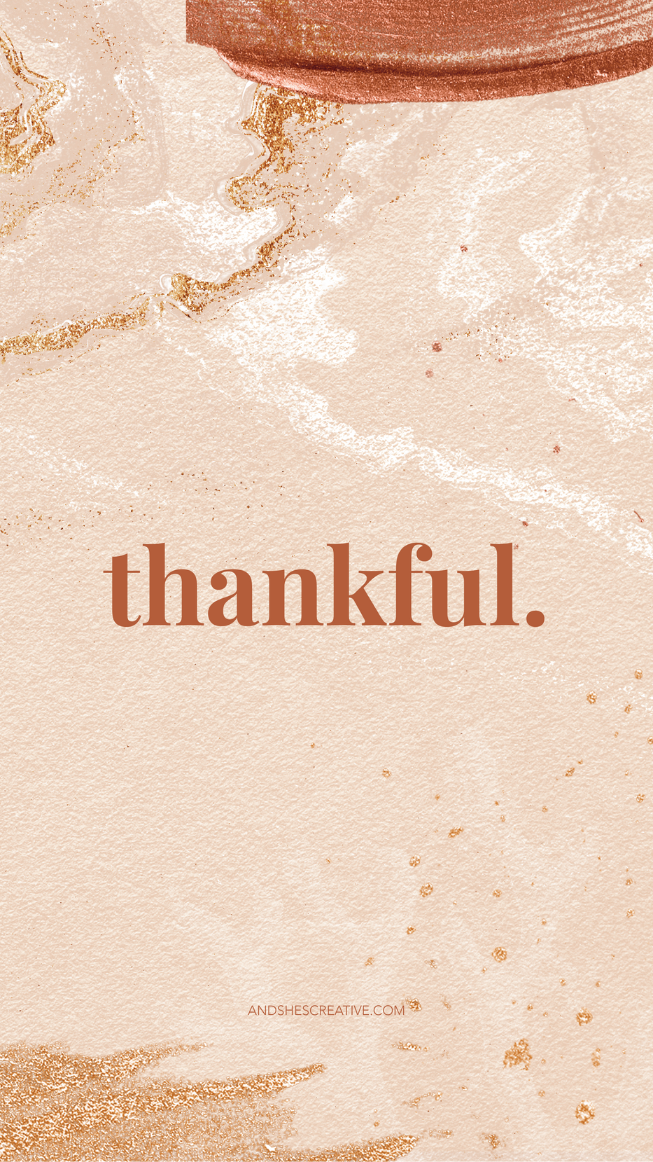 Thankful Mobile Background