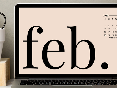 Free Downloadable Tech Backgrounds for February 2020!