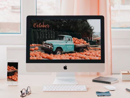 Free Downloadable Tech Backgrounds for October 2020!