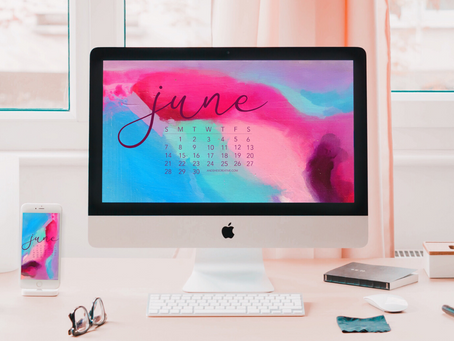 Free Downloadable Tech Backgrounds for June 2020!