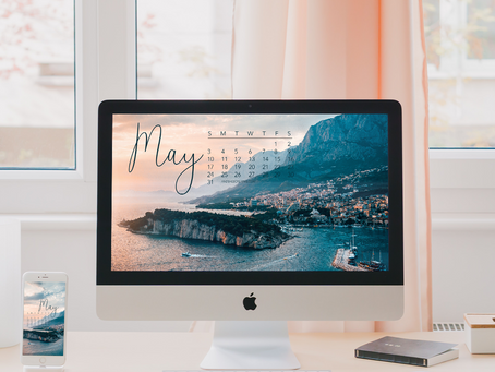 Free Downloadable Tech Backgrounds for May 2020!
