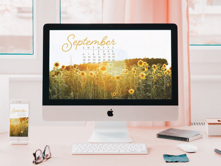 Free Downloadable Tech Backgrounds for September 2020!