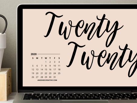Free Downloadable Tech Backgrounds for January 2020!