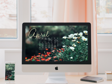 Free Downloadable Tech Backgrounds for April 2020!