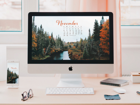 Free Downloadable Tech Backgrounds for November 2020!