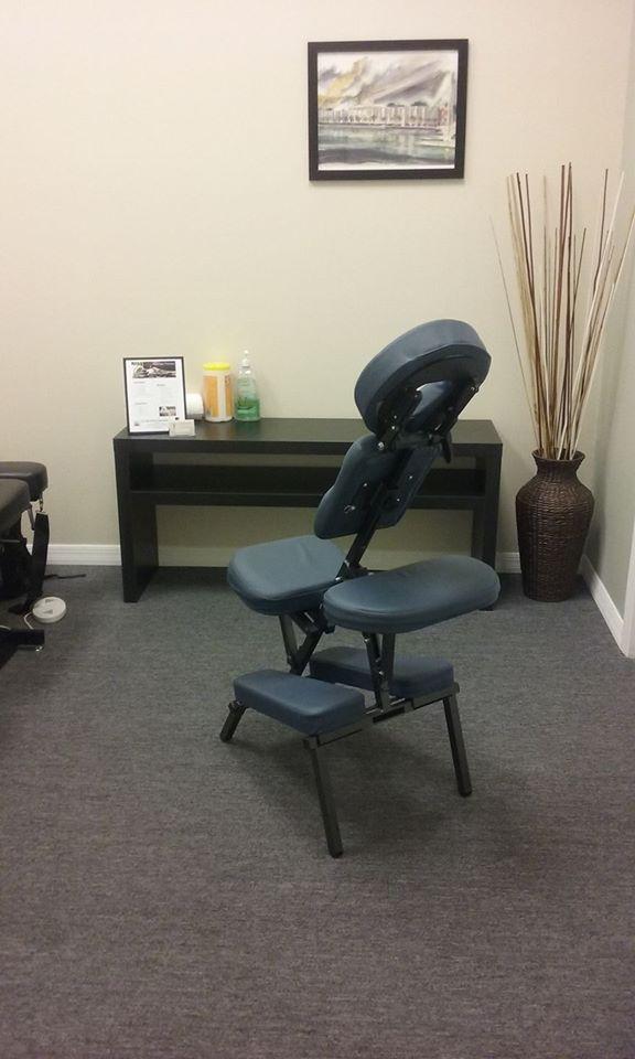 Chair massage @ One Health