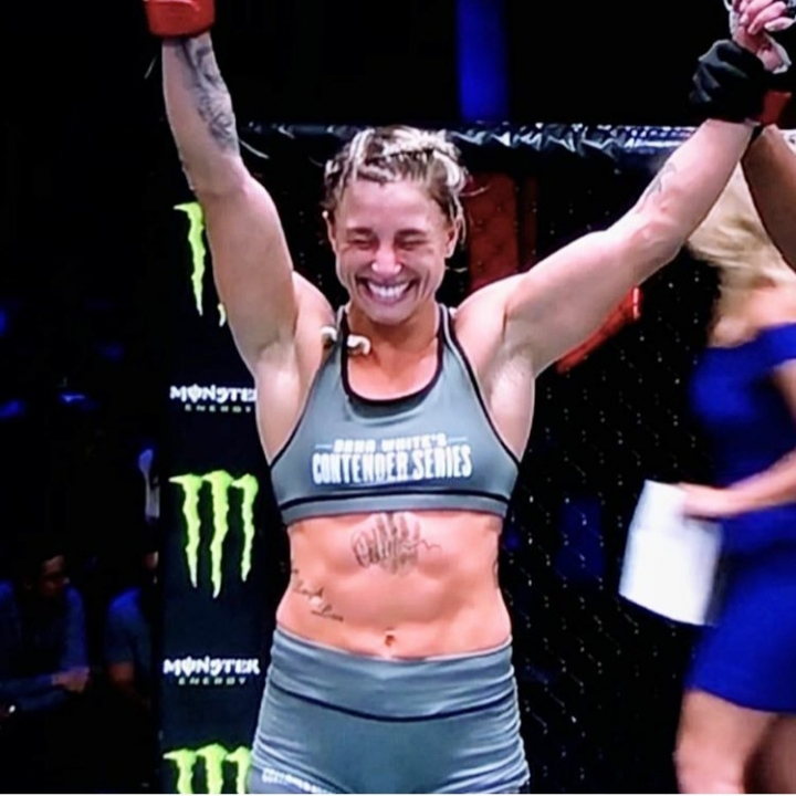 UFC fighter Hannah Goldy
