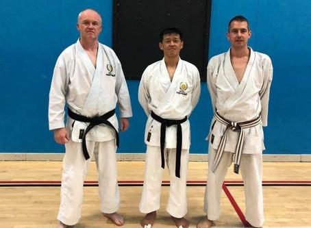 JKS England Seminar with Kanayama Sensei, Sat 13th & Sun 14th October 2018