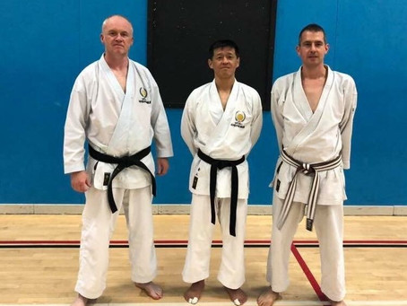 JKS England Seminar with Kanayama Sensei, Sat 13th & Sun 14th October 2018