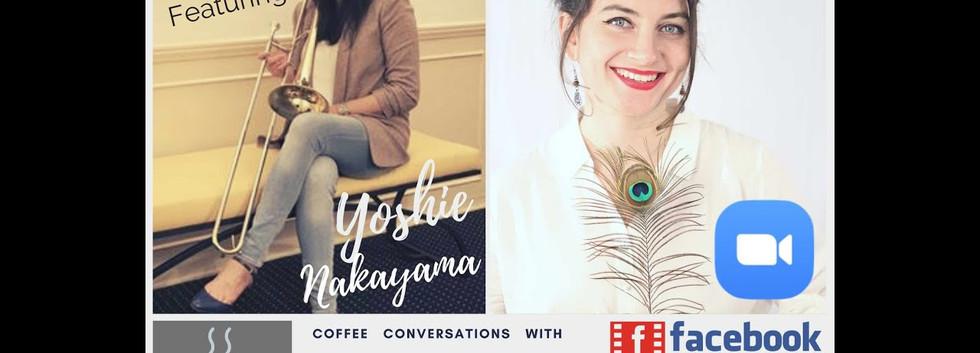 Coffee Conversation with Yoshie Nakayama