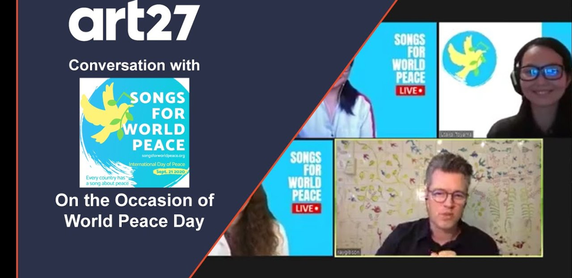 Conversation with Songs For World Peace