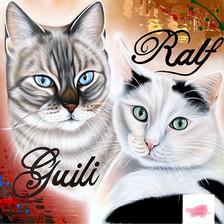 Ralf et Guili