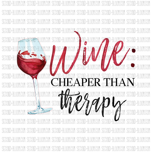 Wine: Cheaper Than Therapy