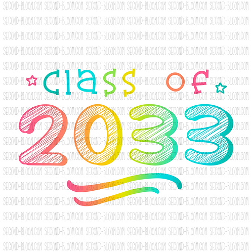 Class of 2033 - Colorful
