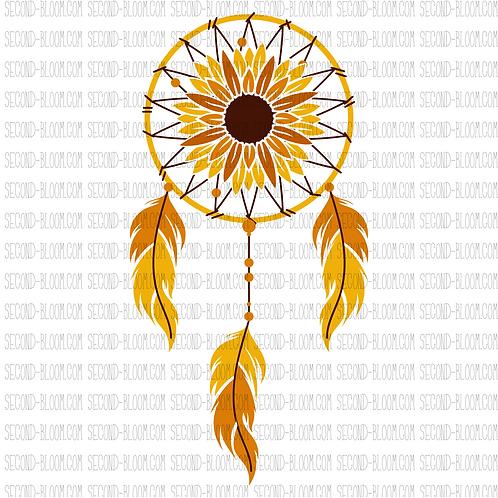 Sunflower Dreamcatcher
