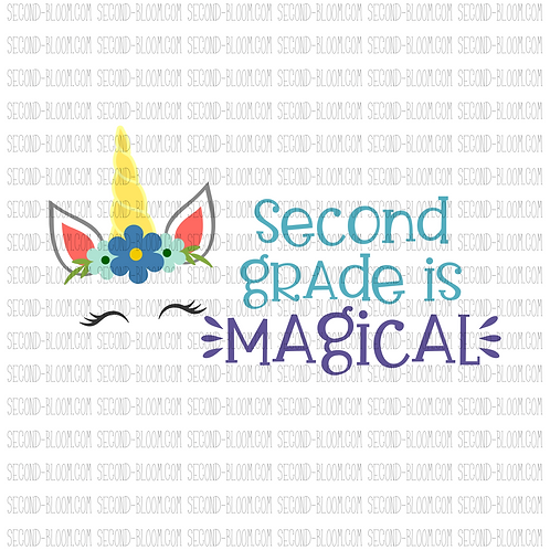 Second Grade is Magical