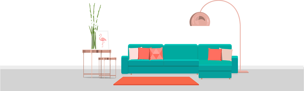 Living Room – Airbnb Management Company