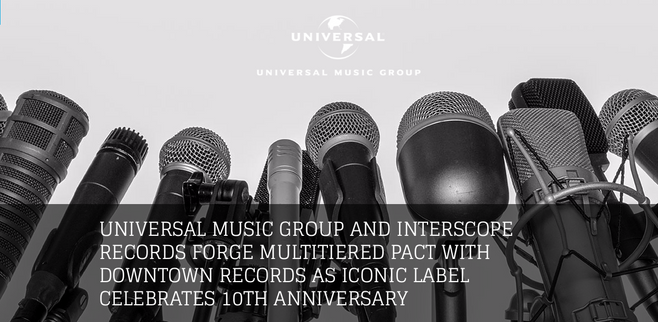 Universal Music Group Press Release