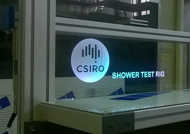 Illuminated Artwork on test equipment for CSIRO