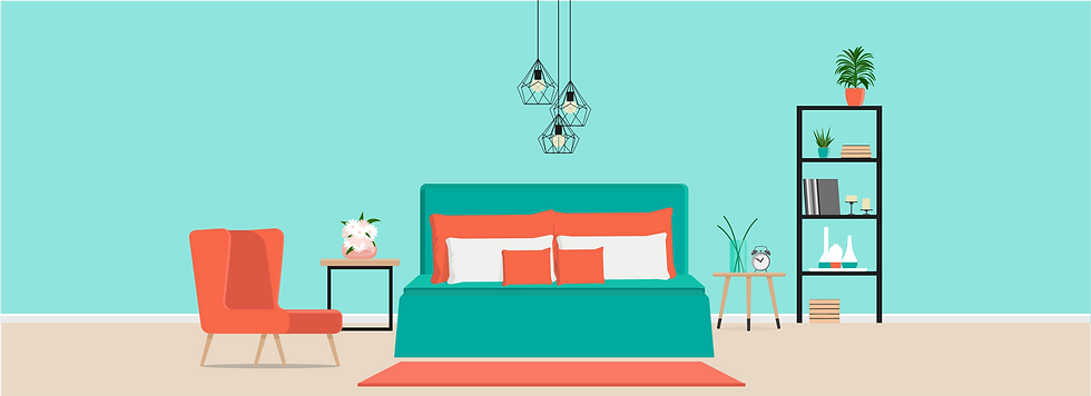 Bedroom- Airbnb property management