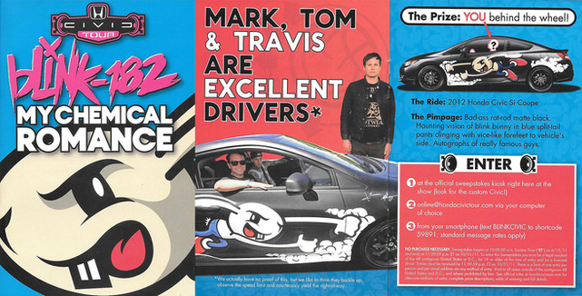 Honda Civic Tour Collateral
