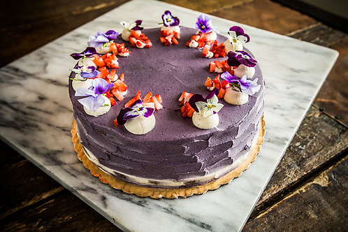 Organic Lemon Cake