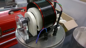 Three-axis Magnetometer working concept