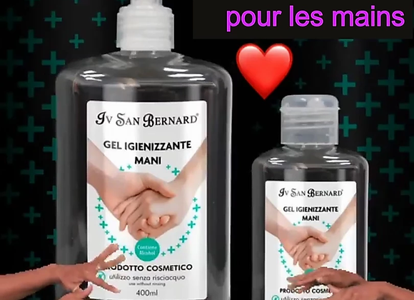 Gel désinfectant hydro-alcoolique pour les mains