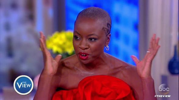 Lupita Nyong'o, Danai Gurira Talk 'Black Panther' Success